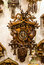 Clock. Vintage cuckoo clocks in shop, Bavaria, Munich, Germany