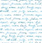 Hand written words - fashion and beauty text. Seamless pattern