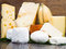 Some various types of international soft and hard cheese