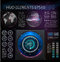 Hud background outer space. Abstreact elements. Set of elements the fantastic theme. Head-up display.Vector illustration.