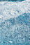 Blue Frosty Glass Ice Background, Natural Beautiful Frost Ice Pattern