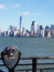 Coin Operated Viewing Scope for New York City Skyline
