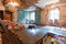 Interior of apartment with materials during on the renovation and construction making wall from gypsum plasterboard