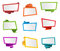 Banner Label Ribbon Tag Origami Vector