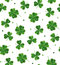 Simple modern pattern for St. Patrick\'s Day.