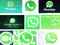 WhatsApp logos