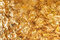 Shiny yellow gold leaf foil texture background