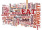 Foods To Eat To Lose Weight Make A Difference Text Background Word Cloud Concept