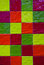 Colorful tiles seamless pattern with squares