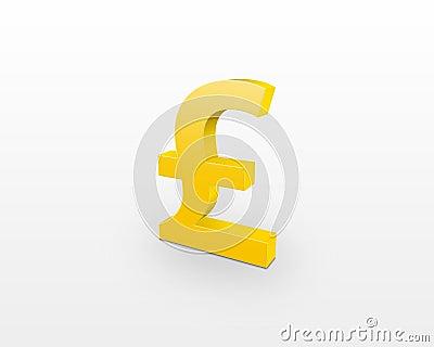 значок фунта:
