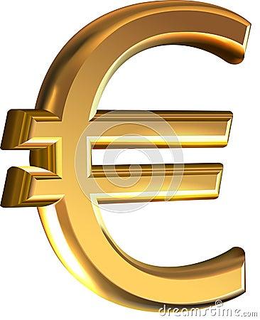 значок евро: