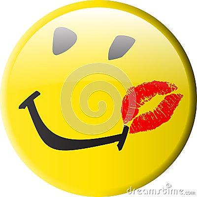 смайлик поцелуй: