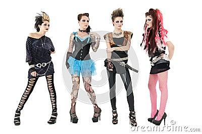 女性摇滚乐队成员