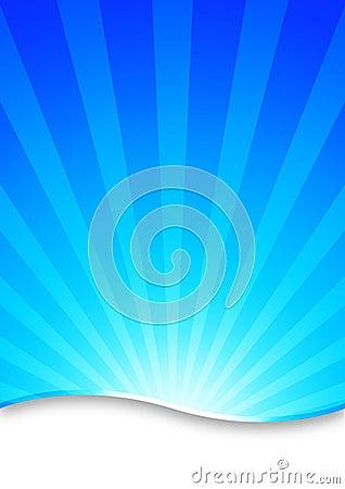 抽象背景空白蓝色破裂了镶边的黑暗的展开梯度例证