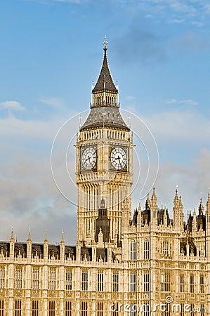 本大时钟英国伦敦塔
