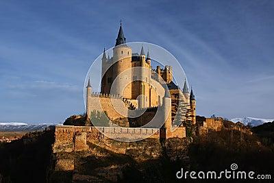 著名城堡手绘图片