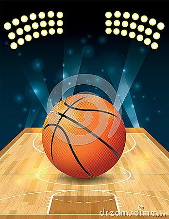 传染媒介篮球场图片