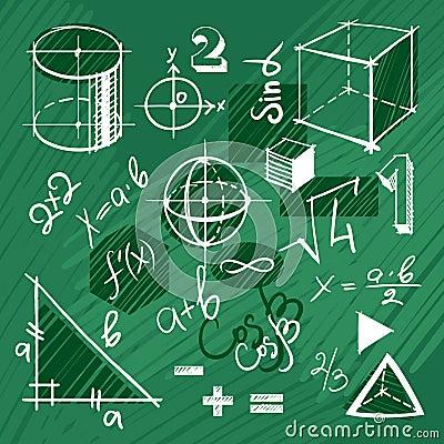 传染媒介套手拉的数学元素图片