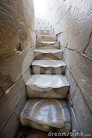 大理石台阶 库存图片
