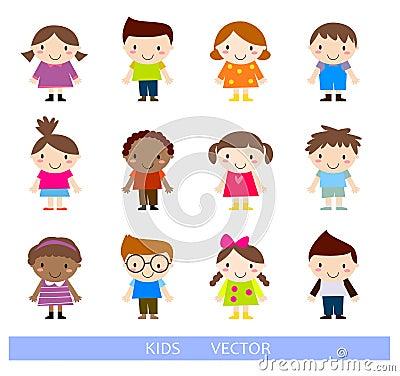 弹小提琴的三个孩子,绘画,滑板男孩和女孩的例证.图片