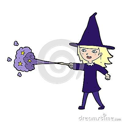 减速火的动画片巫婆铸件咒语
