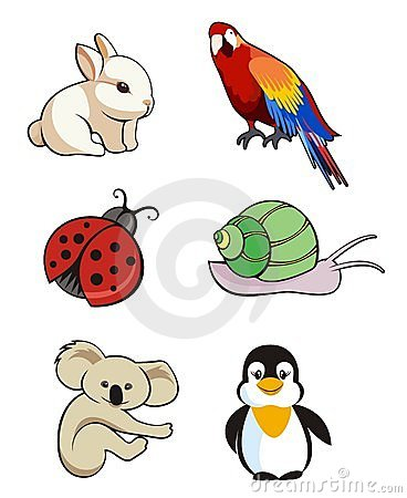 逗人喜爱的动物 免版税图库摄影