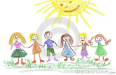 儿童日图画s夏天