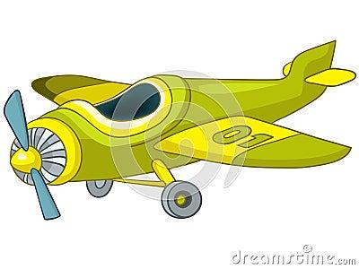 飞机背景动画片eps8查出的向量白色