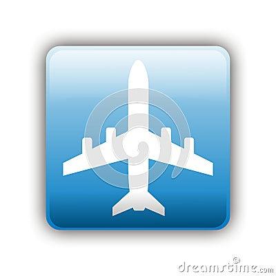 飞机符号 库存照片 - 图片