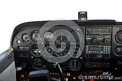 飞行轻专用的5500飞机驾驶舱英尺