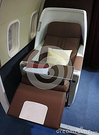 飞机业务分类 免版税库存图片