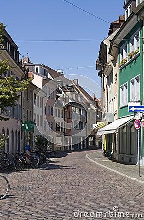 弗赖堡街道风景