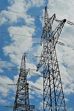 高输电线电压