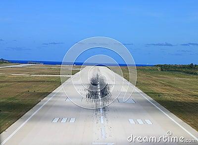 机场跑道 库存照片 - 图片