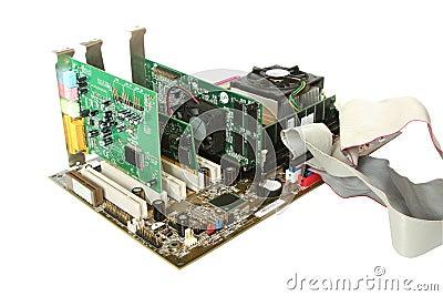 电脑硬件组装步骤