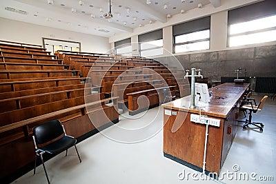 教室大学 免版税库存图片