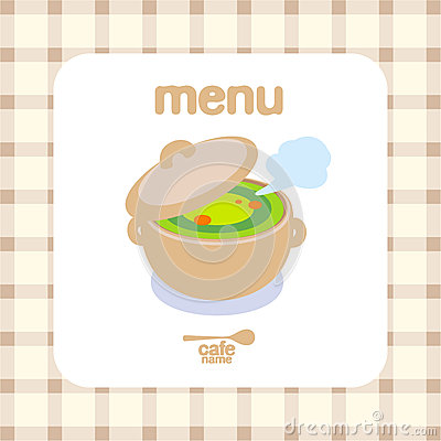 音乐咖啡馆菜单设计模板