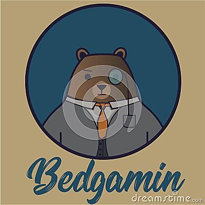 Bear butler Stock Photo