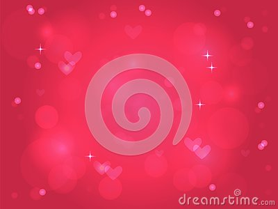 Pink light background for Valentines day Stock Photo
