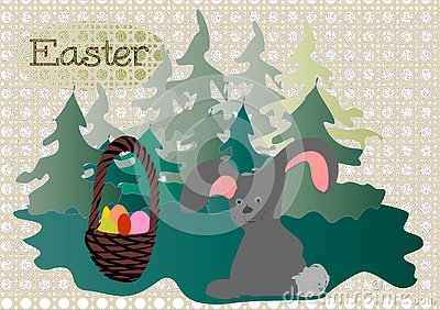 Easter Easter Bunny Stock Photo