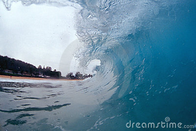 À l intérieur d une onde s enroulante