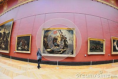 L 39 int rieur du mus e de louvre musee du louvre photo for Louvre interieur