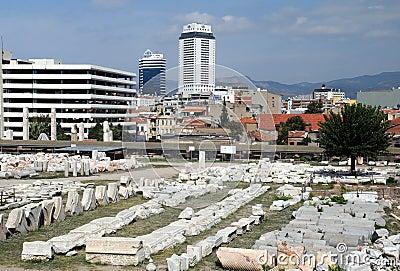 Ágora antiguo en Esmirna