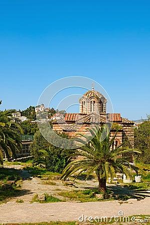 Ágora en Atenas, Grecia
