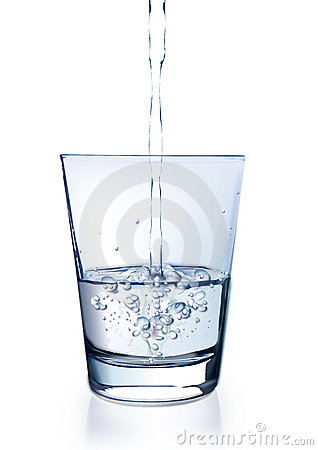 Água no vidro