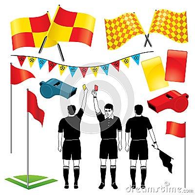 Árbitro Do Futebol Foto de Stock Royalty Free - Imagem: 13438135