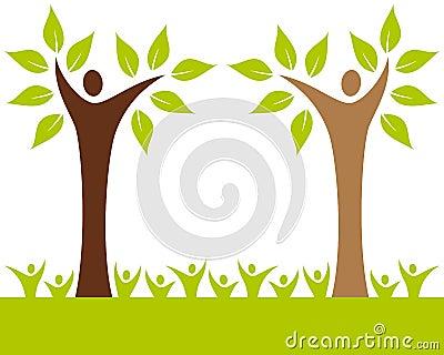 Árbol de familia de la gente