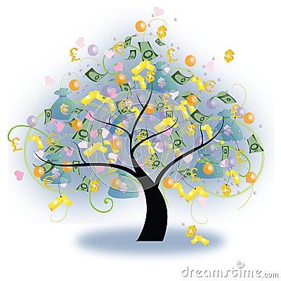 Árvore da riqueza