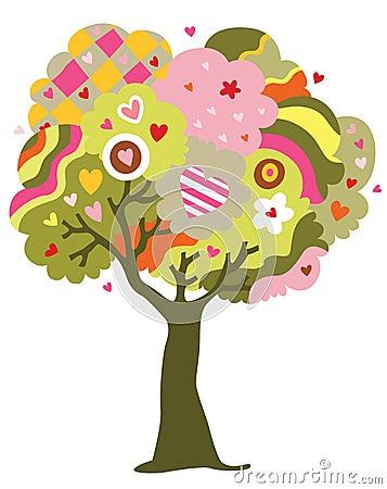 Árvore de amor
