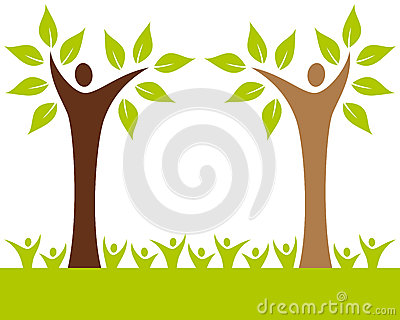 Árvore de família dos povos